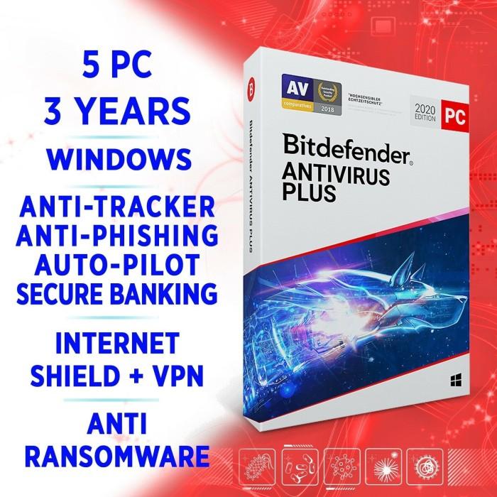 BitDefender AntiVirus Plus 2021, 5 User, 3 Jahre, ESD (deutsch) (PC) -- von eBay.de
