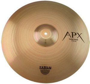 "Sabian APX Medium-Heavy Solid Crash 18"" (SAAP1809)"