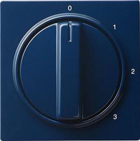 Gira Abdeckung mit Knebel für 3-Stufenschalter, blau (0669 46)
