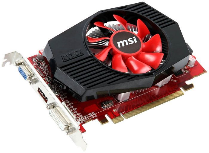 MSI R6570-MD1GD3, Radeon HD 6570, 1GB DDR3, VGA, DVI, HDMI (V250-055R)