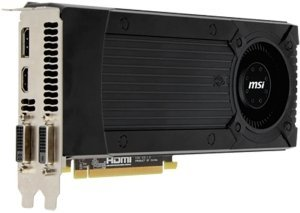 MSI N670GTX-PM2D2GD5/OC, GeForce GTX 670, 2GB GDDR5, 2x DVI, HDMI, DisplayPort (V284-006R)