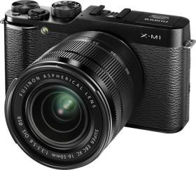 Fujifilm X-M1 schwarz mit Objektiv XF 18-55mm 2.8-4.0 LM OIS