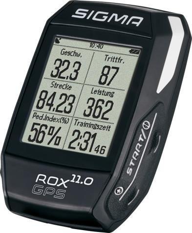 Sigma Sport ROX 11.0 GPS Set schwarz -- ©Sigma Sport