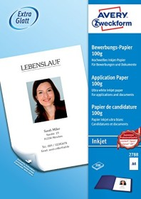 Avery-Zweckform Bewerbungspapier Inkjet paper A4, 200 sheets (2788)