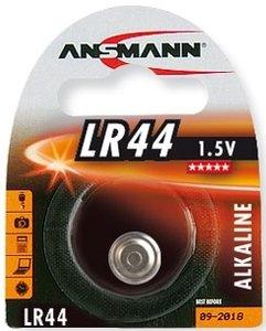 Ansmann LR44, alkali, 1.5V (5015303)