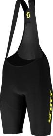 Scott RC Premium Kinetech Fahrradhose kurz black/sulphur yellow (Herren) (275271-5024)