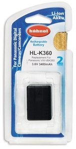 Hähnel HL-K360 Li-Ion battery (1000 168.2)