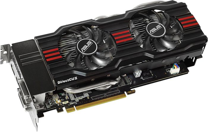 ASUS GeForce GTX 670 DirectCU II, GTX670-DC2-2GD5, 2GB GDDR5, 2x DVI, HDMI, DisplayPort (90-C1CS30-S0UAY0BZ)