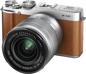 Fujifilm X-M1 braun mit Objektiv XF 18-55mm 2.8-4.0 LM OIS