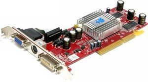 HIS Radeon 9550SE, 128MB DDR, VGA, DVI, TV-out, AGP (R8N-35)