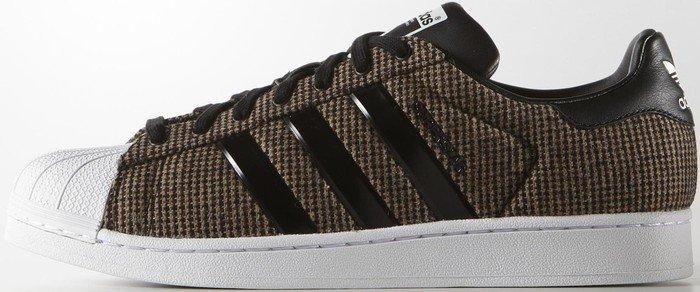 Adidas Superstar Leder Braun