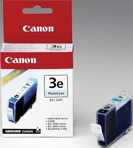 Canon BCI-3ePC Tinte cyan photo (4483A002)