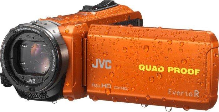 JVC Everio GZ-R435 orange