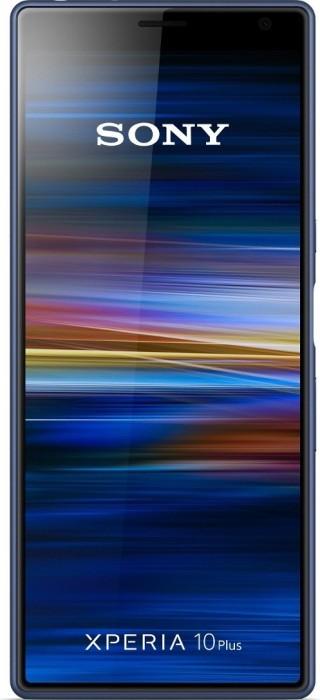Sony Xperia 10 Plus Dual-SIM blau