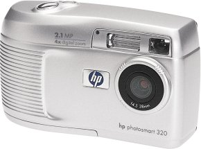 HP Photosmart 320 digital camera (Q2180A)