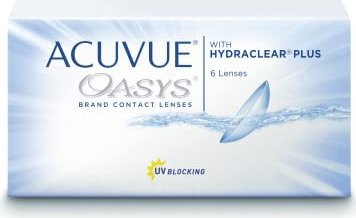 Johnson & Johnson Acuvue Oasys,  6er-Pack -- via Amazon Partnerprogramm