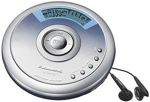 Panasonic SL-MP70 silber