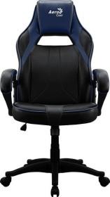 AeroCool AC40C AIR Gamingstuhl, schwarz/blau (AEROAC-40C-AIR-BR)