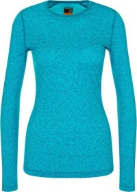 Icebreaker Merino 200 Oasis Crewe Sky Paths Shirt langarm arctic teal (Damen) (104715-436)