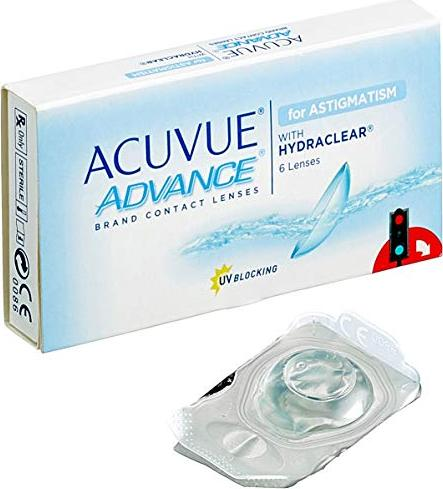 Johnson & Johnson Acuvue Advance for Astigmatism, 6-pack -- via Amazon Partnerprogramm