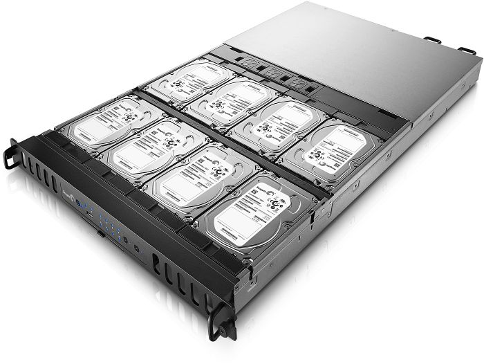 Seagate Business Storage 8-Bay Rackmount 24TB, 2x Gb LAN, 1HE (STDP24000200)