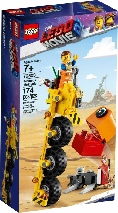 LEGO The Movie 2 - Emmet's Thricycle! (70823)