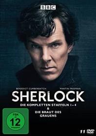 Sherlock Box (Season 1-4 & Die Braut des Grauens)