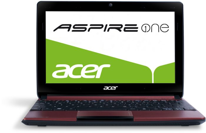 Acer Aspire One D270, Atom N2600, 1GB RAM, 320GB, Windows 7 Starter, red, UK (NU.SGCEK.001)