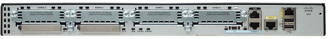Cisco 2901 Integrated Services Router (Voice Bundles)
