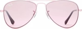 Ray-Ban RJ9506S Aviator Junior 50mm pink/pink gradient (Junior) (RJ9506S-211/7E)