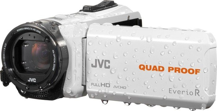 JVC Everio GZ-R435 weiß
