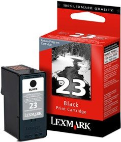 Lexmark Return Druckkopf mit Tinte 23 schwarz (018C1523E)