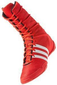 Boxstiefel. adidas adiPower Boxing rotweiss