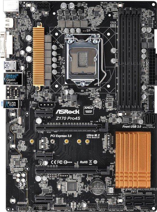 ASRock Z170M Pro4S Intel LAN Windows 7 64-BIT