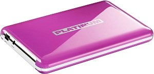BestMedia Platinum MyDrive purple 250GB, USB 2.0 (103200)