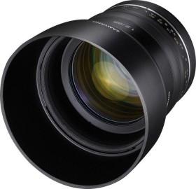 Samyang XP 85mm 1.2 for Canon EF black