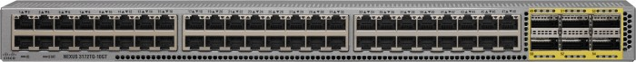Cisco Nexus C3172TQ Rackmount 10G Managed Switch, 48x RJ-45, 6x QSFP+ (N3K-C3172TQ-XL)
