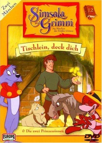 Simsala Grimm Vol. 12: Tischlein deck dich, Die zwei Prinzessinen -- via Amazon Partnerprogramm