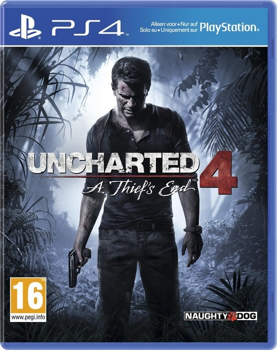 Uncharted 4: A Thief's End (deutsch) (PS4)