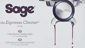 Sage SEC250 The Espresso Cleaner cleaning tablets for espresso machines, 8 pieces