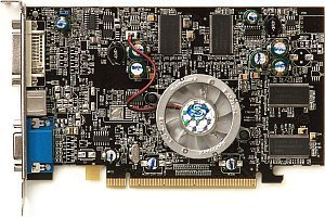 Sapphire Radeon X600 Pro, 128MB DDR, DVI, TV-out, PCIe, full retail (11036-00-40)