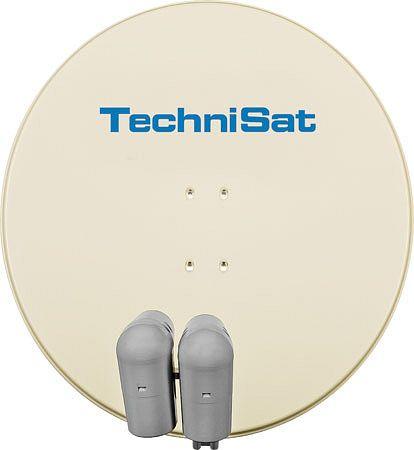 TechniSat EUTELASTRASAT 850 beige inkl. 2x Single-LNB + DiSEqC-Schalter 2/1 (9708/8800)