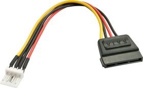 """Lindy SATA Kabel 3.5"""" Stecker auf 15-pol Stromanschluss, 0.5m (33297)"""