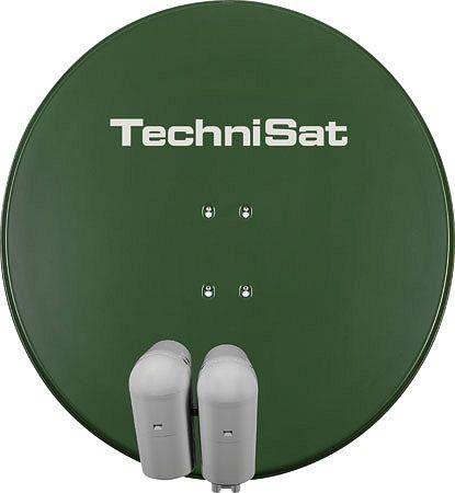 TechniSat EUTELASTRASAT 850 olivgrün inkl. 2x Single-LNB + DiSEqC-Schalter 2/1 (9708/8802)
