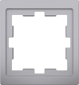 Merten System Design D-Life Rahmen, 1fach, edelstahl (MEG4010-6536)