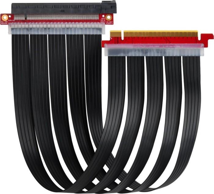 SilverStone RC04, PCIe x16 Riser cable Slimline 400mm (SST-RC04B-400)