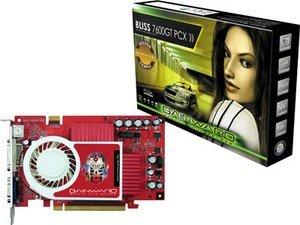 Gainward BLISS GeForce 7600 GT Golden Sample, 256MB DDR3, 2x DVI, TV-out (7777)