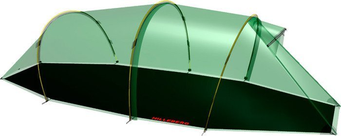 Hilleberg tent pad for the Nallo 2 GT tunnel tent -- ©Globetrotter