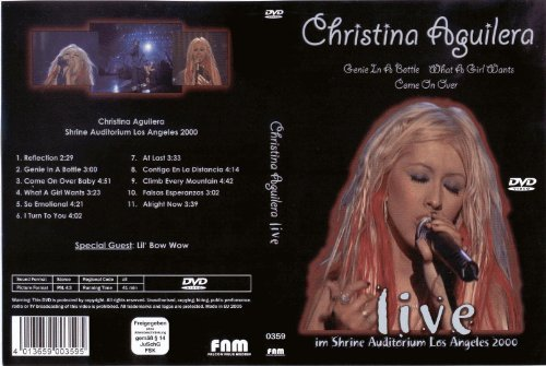 Christina Aguilera - Live -- via Amazon Partnerprogramm