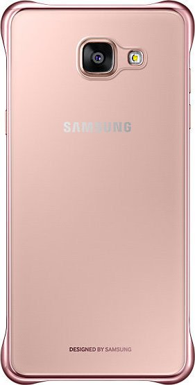 new style 6e421 88cee Samsung EF-QA510CZ clear Cover for Galaxy A5 (2016) rose gold